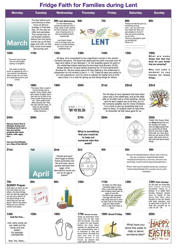 Fridge Faith jpg for Families lent calendar 2014