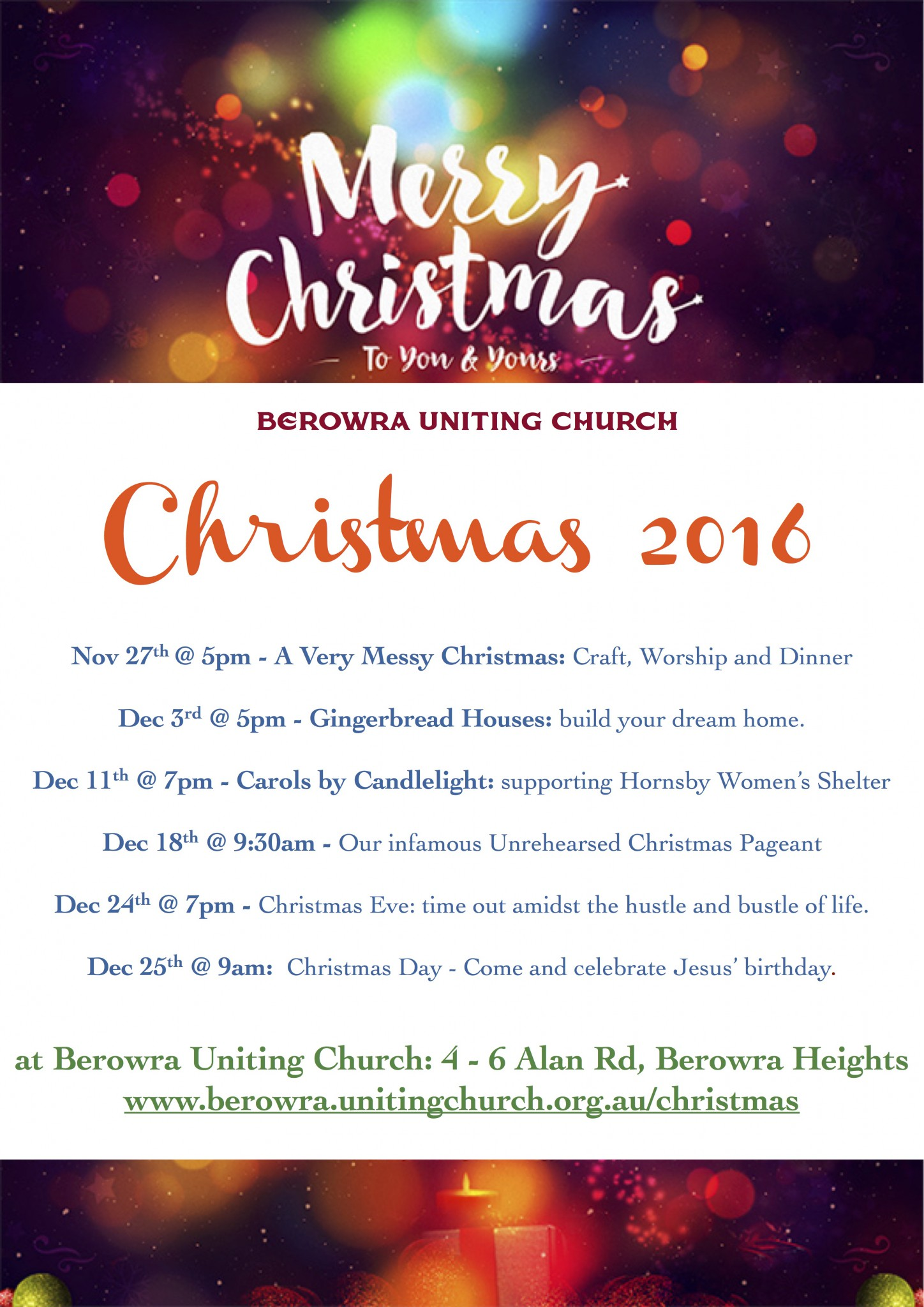 Christmas is Coming! | Berowra Uniting Church